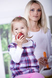 Apple girl Royalty Free Stock Photography