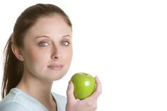 Apple Girl Stock Image