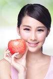 Apple is good for health Royalty Free Stock Photo