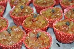 Apple Granola Cupcakes Στοκ Εικόνα