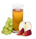 Apple grape juice Royalty Free Stock Image