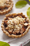 Apple and grape tart Royalty Free Stock Photo