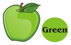 Apple is green Royalty-vrije Stock Afbeelding