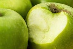 Apple, Green, Bite, Healthy Stock Photos