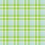Apple Green & Blue Seamless Plaid Background. Apple green and blue background pattern for a variety of uses. EPS file has global colors for easy color changes Stock Image