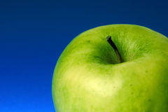 Apple of green color Stock Image