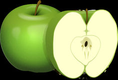 Apple, Green, Granny Smith, Produce stock photography