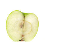 Apple. Green apple, isolated on white background Royalty Free Stock Image