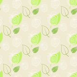 Apple,green,leaf.Pattern fresh apple. Apple,green,leaf.Background,pattern fresh apple.Vector leafs and apples Royalty Free Stock Photography