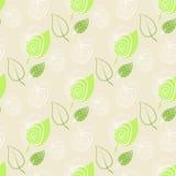 Apple,green,leaf.Pattern fresh apple. Apple,green,leaf.Background,pattern fresh apple.Vector leafs and apples royalty free illustration