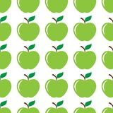 Apple green seamless pattern background Royalty Free Stock Photo