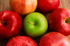 Apple group Royalty Free Stock Photography