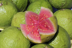 Apple guava, fruit native to the Americas Royalty Free Stock Image