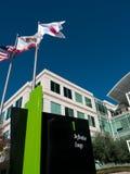 Apple högkvarter i Cupertino Kalifornien Arkivbilder