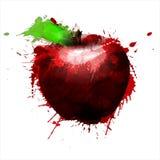 Apple ha fatto di variopinto spruzza Immagini Stock