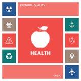 Apple - halftone logo elementy projektów galerii ikony widzą odwiedzić twój więcej moich piktogramy proszę ilustracja wektor