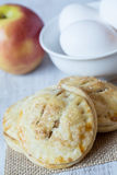 Apple Hand Pies With Eggs Royalty Free Stock Photo