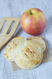 Apple Hand Pies With Spatula Royalty Free Stock Images