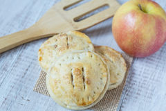 Apple Hand Pies With Spatula Close Up Royalty Free Stock Image