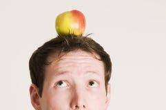 apple head look to Στοκ Εικόνες