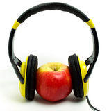 APPLE HEADPHONE Royalty Free Stock Image