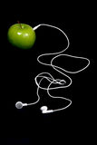 Apple Headphones Royalty Free Stock Image