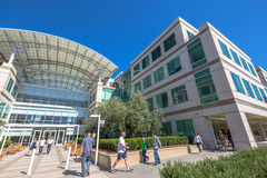 Apple headquarters California Stock Images