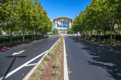Apple headquarters Cupertino Stock Image