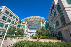 Apple headquarters Cupertino Royalty Free Stock Photography