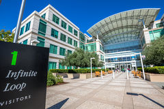 Apple headquarters Infinite Loop Royalty Free Stock Photos