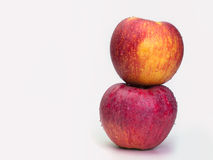 Apple Health Foods. Healthy food in heart and cholesterol diet ,concept royalty free stock image