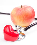 Apple for healthy heart Stock Photos