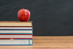 Apple is healthy for student and get better test Results Royalty Free Stock Image