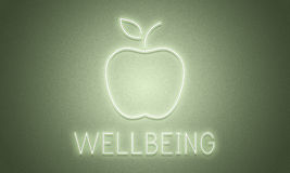 Apple Healthy Wellbeing Health Concept Stock Photography