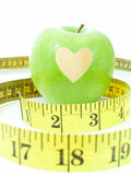Apple with a heart Royalty Free Stock Photo
