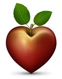 Apple Heart Royalty Free Stock Images