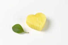 Apple heart Stock Image