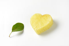 Apple heart Royalty Free Stock Photo