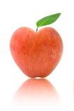 Apple-Herz Lizenzfreie Stockbilder