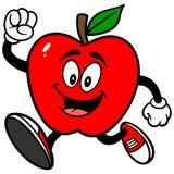 Apple-het Lopen stock illustratie