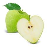 Apple hjärta Royaltyfri Fotografi