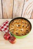 apple home made pie Στοκ εικόνα με δικαίωμα ελεύθερης χρήσης