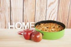 apple home made pie Στοκ φωτογραφία με δικαίωμα ελεύθερης χρήσης