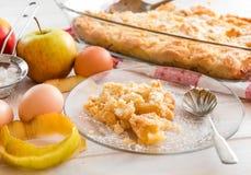apple home made pie Στοκ φωτογραφίες με δικαίωμα ελεύθερης χρήσης