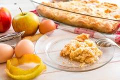 apple home made pie Στοκ Εικόνες