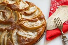 apple home made pie Στοκ Φωτογραφίες