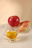 Apple And Honey Stock Photo