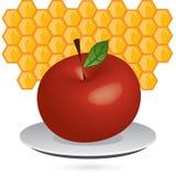 Apple_honey Imagens de Stock Royalty Free