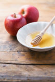 Apple & Honey Royalty Free Stock Images