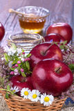 Apple and honey Royalty Free Stock Photography